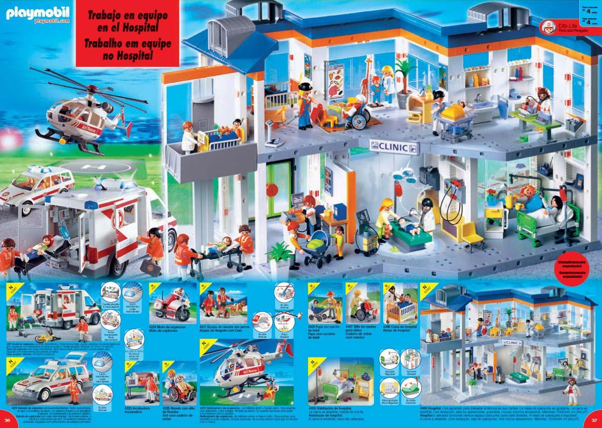 Playmobil 3637 for Hospital de playmobil